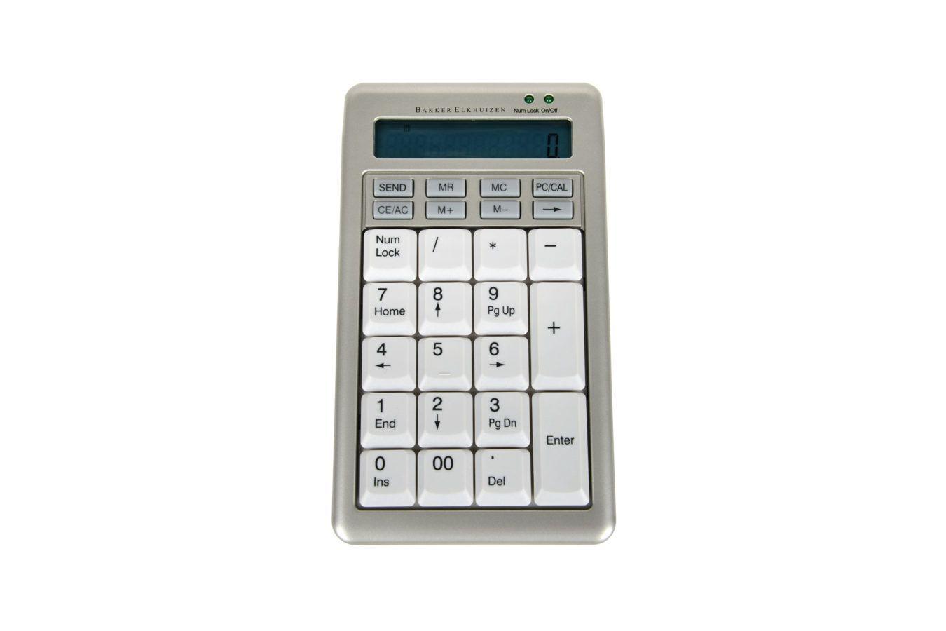 Teclado numérico ergonómico